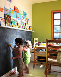 Fascinating Chalkboard Wall Ideas Playroom Photo Ideas