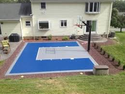 backyard ideas basketball court. brilliant ideas backyard basketball court comely photo idea book a