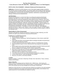 Oil And Gas Resume Examples