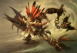 difference between shaman and witch doctor
