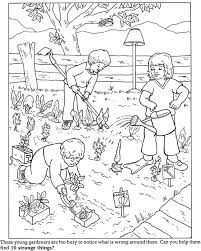 Small Picture Garden Coloring Pages fablesfromthefriendscom