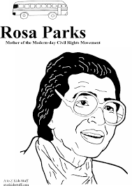 Small Picture Rosa Parks Coloring Page Coloring Pages Online