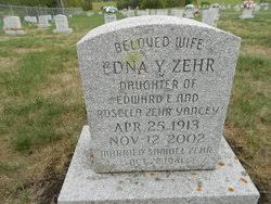 Edna Mae Yancey Zehr (1913-2002) - Find A Grave Memorial