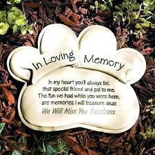 engraved pet memorial garden stones personalized in memory stone stonewall gardens sunrise service