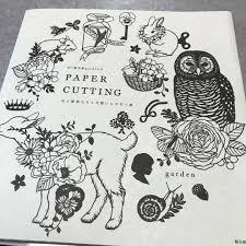 切り絵作家gardenのpaper Cutting 花と動物たちと可愛いもの切 990 メルカリ スマホでかんたん フリマアプリ