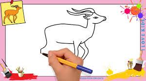 Dessin Gazelle Facile Comment Dessiner Une Gazelle Facilement