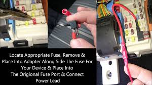 how to fuse tap hard wire nextbase dash cam youtube 2004 Nissan Maxima Fuse Box Diagram Wire Dashcam To Fuse Box #17