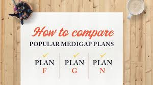 Medigap Plans Comparison Chart How To Compare Popular Medigap Plans F G And N
