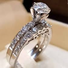 Latest Couple Ring Designs 2019 New Fashion Couple Ring Design Men And Women Engagement Diamond Ring Party Classic Jewelry Gift