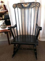 american made rocking chair wood rocking chair with a slat seat in green made in the american made rocking chair