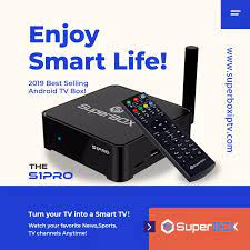 Super Box S1pro Die Beste TV Box für Nordamerika mit Live TV VOD Filme  Android 7,0 Spieler|Set-top Boxes