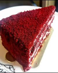 red velvet cake texture. Image May Contain: Dessert And Food Red Velvet Cake Texture E