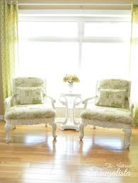 Queen Anne Armchairs a fresh new look