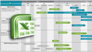 Software Roadmap Template Excel Oyle Kalakaari Co