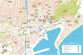 malaga street map