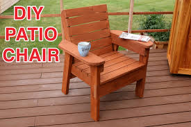 diy patio chair plans