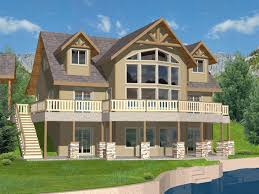 lake house plans. Purcell Lake Rustic Home House Plans S