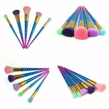 5pcs colourful makeup brush