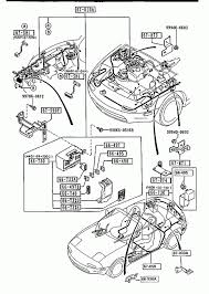 998650516b front rear wiring harnesses mazda miata epc diagram front rear wiring harnesses