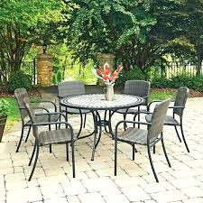 60 inch round patio table round patio table for 6 marble top 7 round outdoor dining 60 inch round patio table