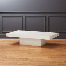 element ivory rectangular coffee table