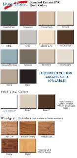 Colored And Brown Vinyl Windows Window Color Choices