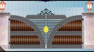 Ms Square Pipe Grill Design Compound Wall Gate Grill Design 50 Modern Gate Grill