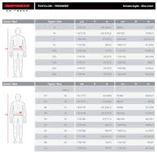 Ktm Jacket Size Chart Spidi Size Chart