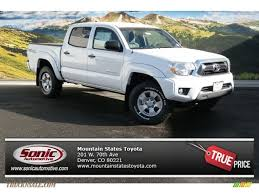 2014 Toyota Tacoma V6 TRD Double Cab 4x4 in Super White - 140743 ...
