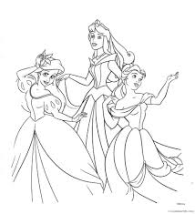 A painting with the princess. Disney Princess Coloring Pages Cartoons Disney Princesses 2 Printable 2020 2403 Coloring4free Coloring4free Com