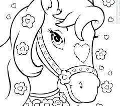 Easy Little Kid Coloring Pages Unicorn Easy Coloring Page Coloring
