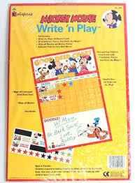 Amazon Com Disney Mickey Mouse Write N Play Good Deed