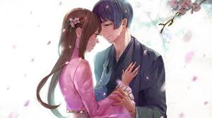 lovely anime couple hd wallpapers
