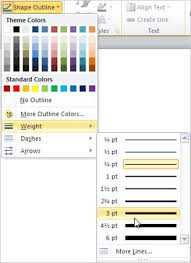 Creating dotted lines dot by dot can be tedious and annoying. Change The Color Style Or Weight Of A Line Office Support