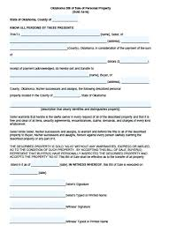 Personal Bill Of Sale For Car Bill Of Sale Personal Property Template Bill Of Sale