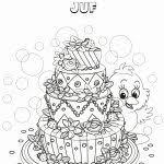 Tekening Verjaardag Oma Kleurplaat Kleurplaat Voor Kinderen