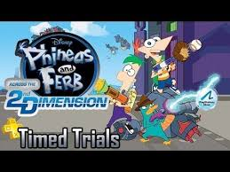 timed trials episode 02 phineas and ferb across the 2nd dimension too much gaming you