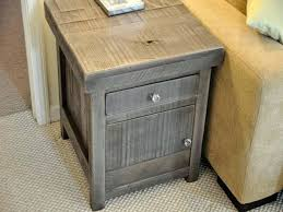 small accent table with drawer end tables simple living room rustic end tables storage reclaimed wood