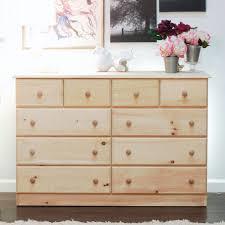 Dresser With Cabinet Gothic Cabinet Craft Solid Pine Dresser 10 Drawer 39900