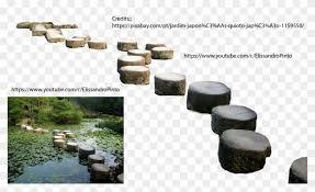 japanese rock garden png clipart