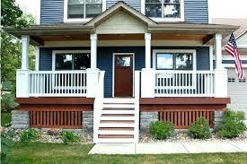 Front Door Step Railing Ideas Porch Steps Stair Sleek Railings Home ...