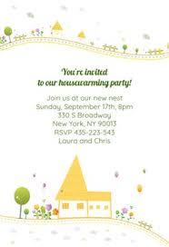 Housewarming Party Free Housewarming Invitation Template