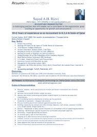 Cv Format For Accountant Pdf Filename Heegan Times