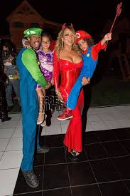 23 super mario and luigi costumes mariah carey dressed as a y devil joined her