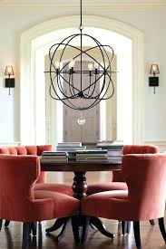 size of chandelier for dining table rectangular