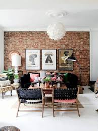 old brick dining room sets new exposed brick wall brick