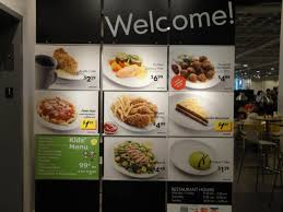 IKEA Furniture Store…the Restaurant