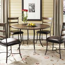 9 pc dining room set inspirational cameron round counter height dining table wayfair scheme counter of