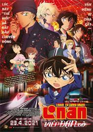 Phim Thám Tử Lừng Danh Conan Movie 24: Viên Đạn Đỏ - Detective Conan Movie  24: The Scarlet Bullet Full HD (2021) Online Vietsub Thuyết Minh