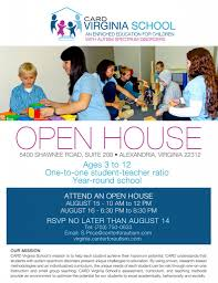 Open House At Card Virginia School Card Community